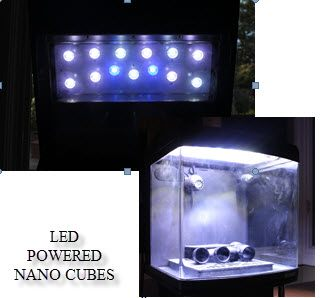 Integrated Next Generation Flip Top Canopy Cree LED Lighting with Built in Fans  sc 1 st  JBJ Nano Cubes : nano led lighting - azcodes.com
